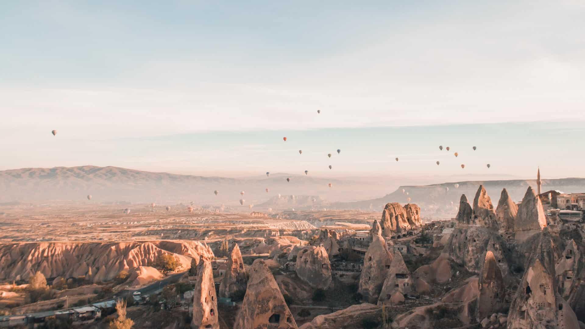 paisajes naturales del mundo capadocia