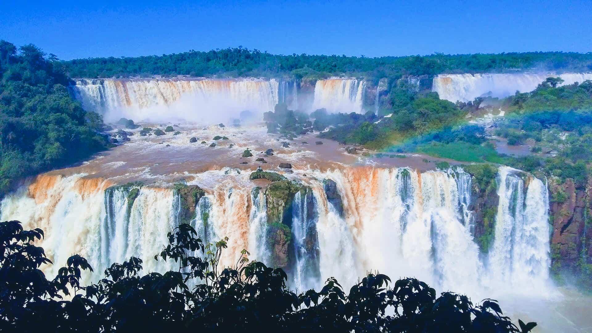 catarata de iguazu paisajes mas impresionantes del mundo