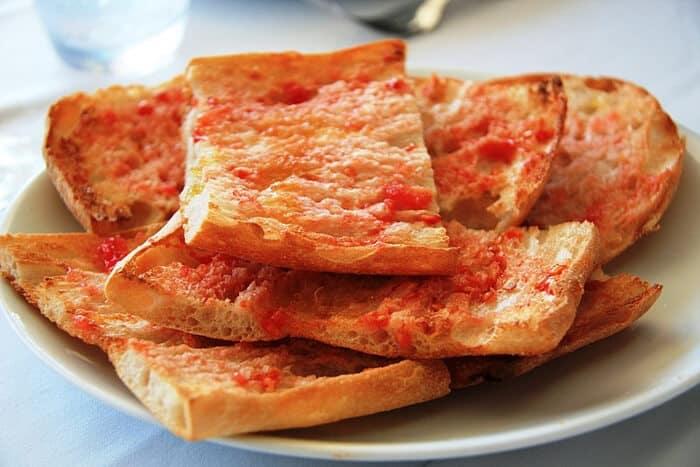 platos tipicos de espana pan tumaca