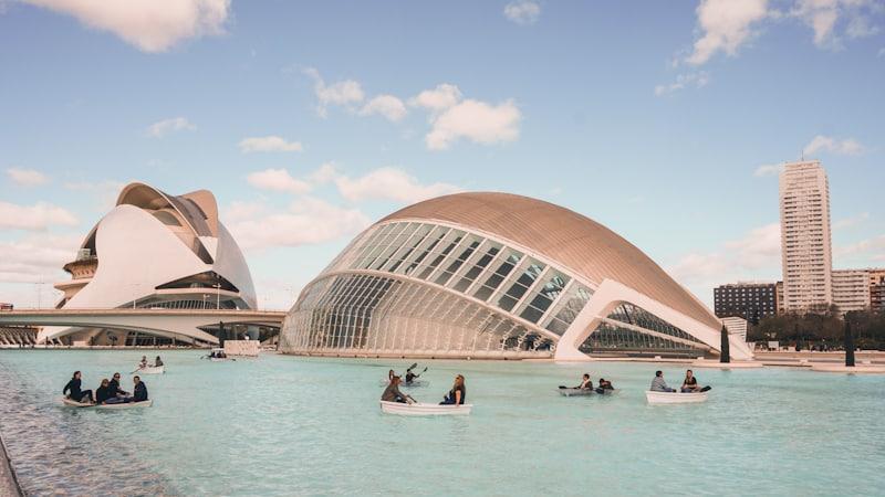 que ver en Valencia ciudad de las artes y las ciencias