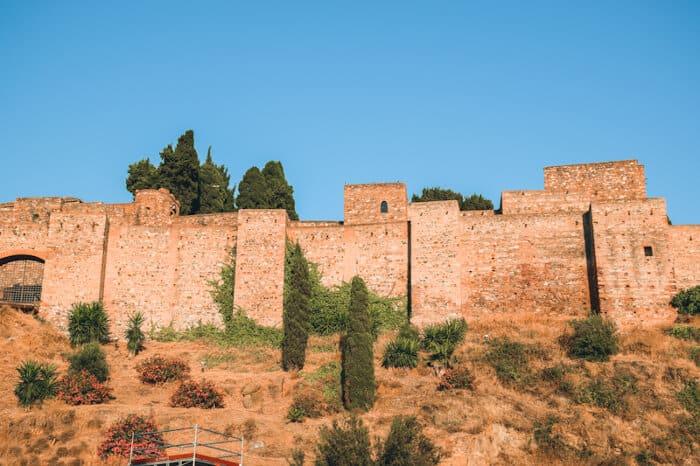 mejores terrazas de malaga alcazaba