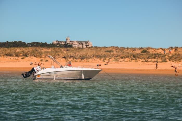 barco santander playa del puntal