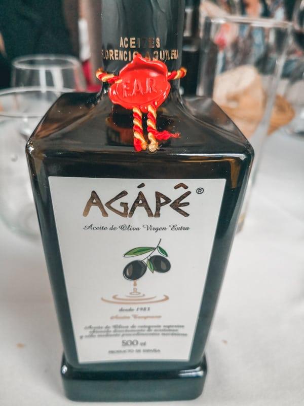 comida tipica de andalucia aceite de jaen