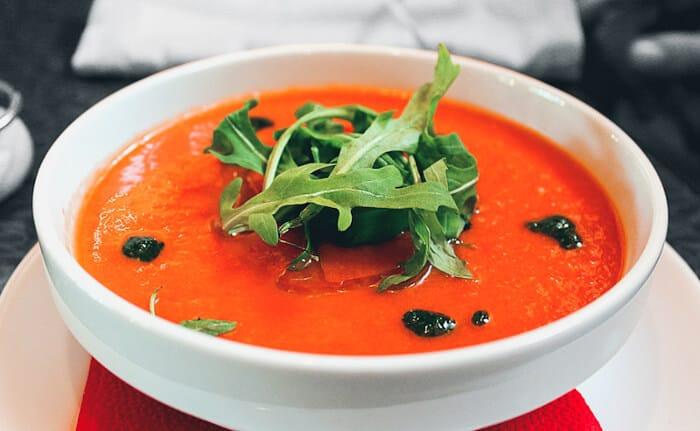 comida tipica de andalucia gazpacho