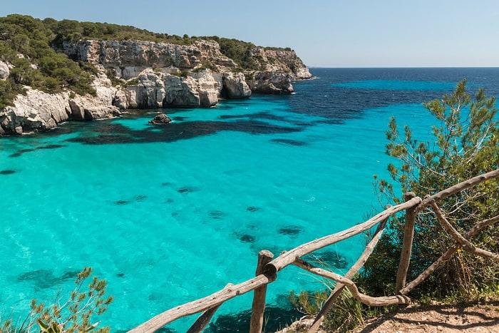 mejores playas españa menorca