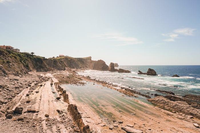 playa de la arnia pielagos