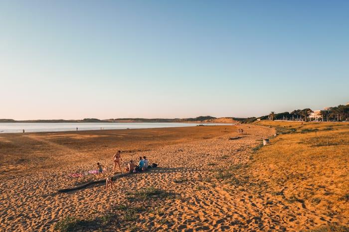 playa de usil mogro