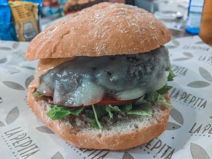 hamburguesas Santander la pepita