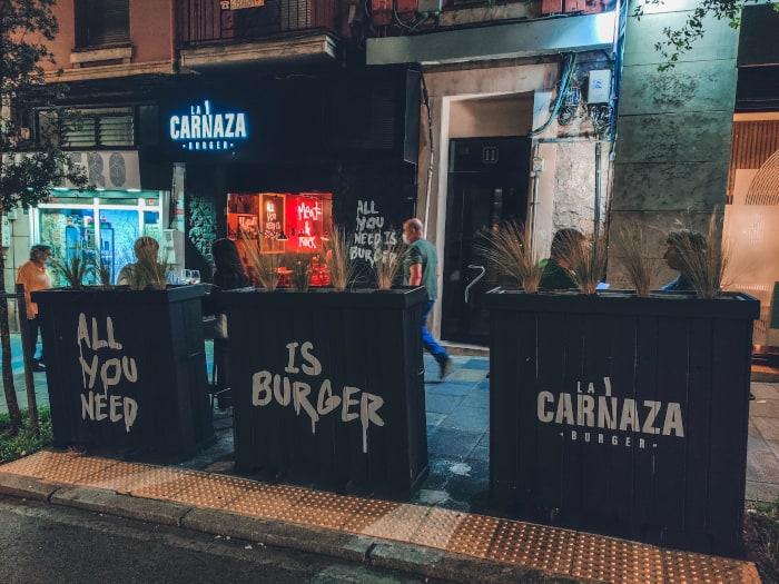 mejores hamburguesas de Santander