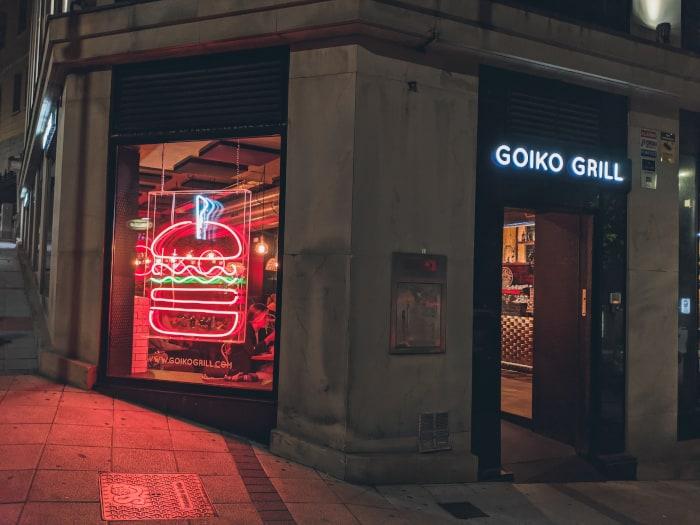mejores hamburguesas de santander Goiko Grill
