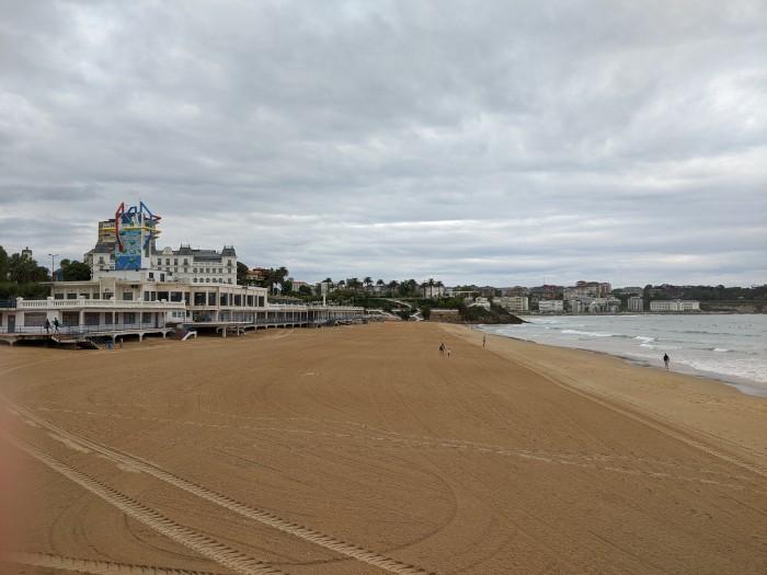 primera playa del sardinero santander