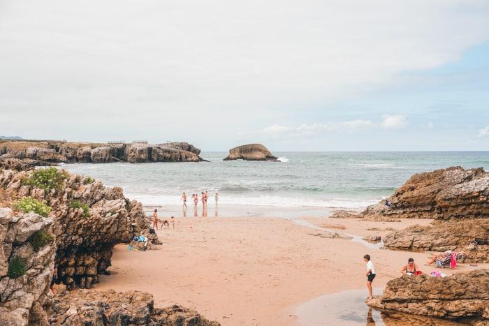 mejores playas de santander el bocal